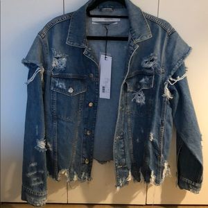 Iro Oversized Denim Jacket